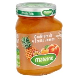 Confiture de 4 fruits jaunes