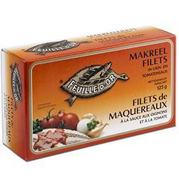 Filets de maquereaux à la sauce aux oignons et à la ...