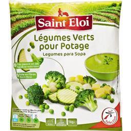 Légumes verts pour potage