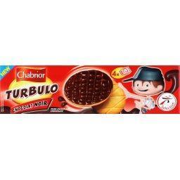 Biscuit turbulo chocolat noir