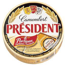 Camembert - fromage en portions