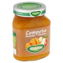 Compote d'abricots-pommes