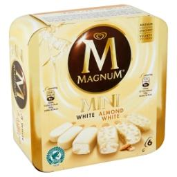 Magnum mini - almond white