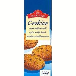 Cookies nougatine et pépites de chocolat
