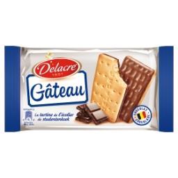 Gâteau - la tartine de l'écolier - au chocolat belge