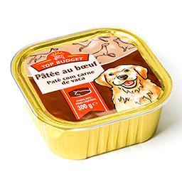 Pâtée au bœuf - aliment complet pour chien