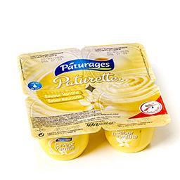Paturette - crème dessert saveur vanille