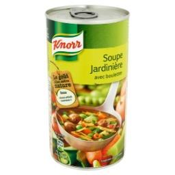 Potage de légumes avec boulettes