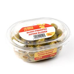 Olives piquantes