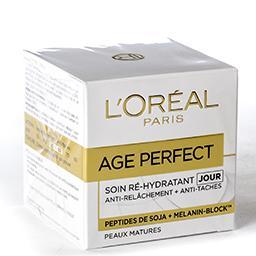 Age perfect - soin ré-hydratant jour - peaux matures
