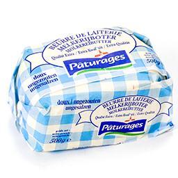 Beurre de laiterie doux - qualité extra