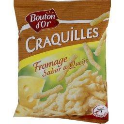 Craquilles fromage, produit soufflé à base de maïs g...
