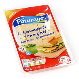 L'emmental français - tranchettes - spécial baguette