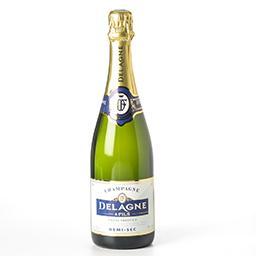 Champagne - cuvée prestige - demi-sec