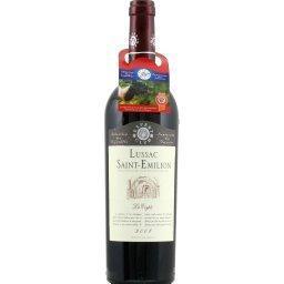 Bordeaux lussac saint-emilion, vin rouge