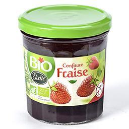 Bio confiture de fraises