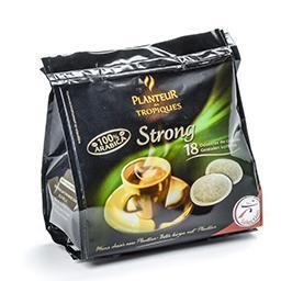 Strong - café 100% arabica - café pads