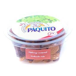 Mélange croquant: raisins - amandes - noisettes