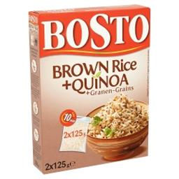 Brown Rice + Quinoa + Grains