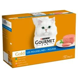 Gold les mousselines - pour chat adulte - au poulet,...