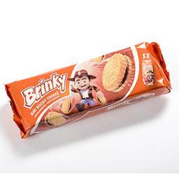 Mini biscuits au beurre fourrés goût chocolat