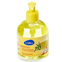 Gel lavant mains - savon de marseille et feuilles d'...