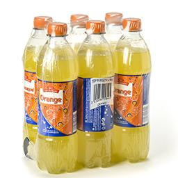 Orange - limonade aux extraits de fruits