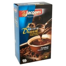Callets dessert chocolat fondant