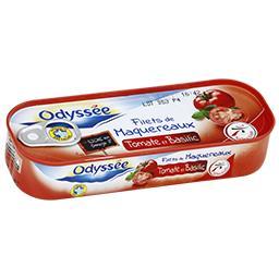 Filets de maquereaux à la tomate - riche en oméga 3