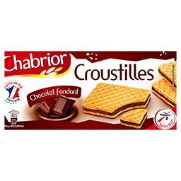Gaufrettes Croustilles chocolat fondant