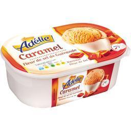 Crème glacée caramel et fleur de sel