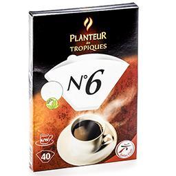 Filtres à café n°6