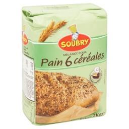 Mélange pour pain 6 céréales