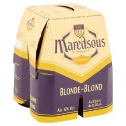 Bière Belge d'Abbaye Blonde