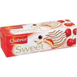 Sweet, tendres génoises à la cerise et au chocolat b...