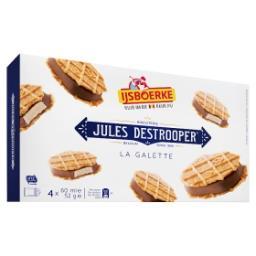 La galette jules destrooper glace vanille et chocola...