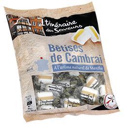 Bêtises de Cambrai à l'arôme naturel de menthe