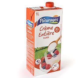 Crème entière fluide 30%
