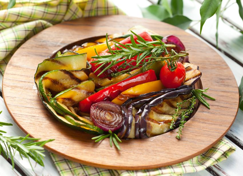 Légumes méditerranéens grillés