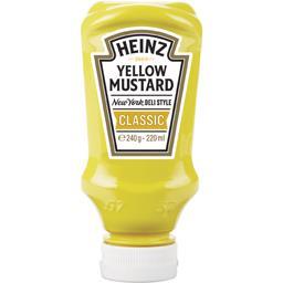 Yellow Mustard,HEINZ,le flacon de 240g