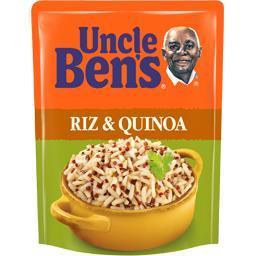 Riz & quinoa prêt en 2 minutes,UNCLE BEN'S,le sachet de 220 g