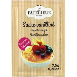 Sucre vanilliné saveur intense,LA PATELIERE,le sachet de 7,5 g