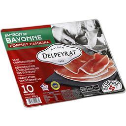 Le Jambon de Bayonne,Delpeyrat Traiteur,le paquet de 10 tranches - 200 g
