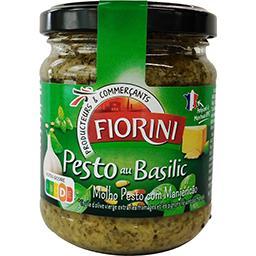 Pesto au basilic,FIORINI,le pot de 190g