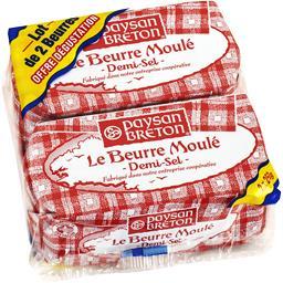 Beurre moulé demi-sel Paysan Breton,PAYSAN BRETON,