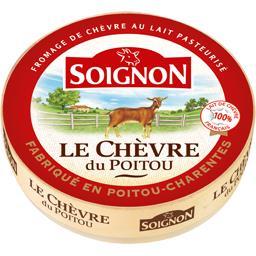 Le chèvre, fromage au lait pasteurisé,SOIGNON,la boite de 180g