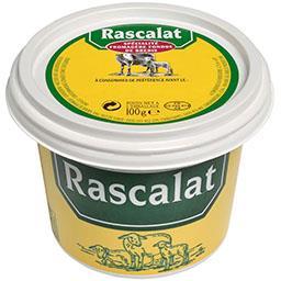 Spécialité fromagère fondue de brebis,Rascalat,le pot de 100g