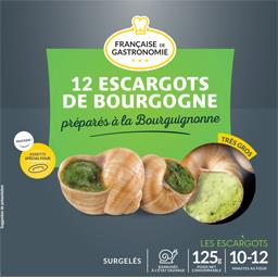 Escargots de Bourgogne à la bourguignonne, très gros,CARREFOUR,