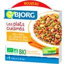 Bjorg Les Plats Cuisinés - Méli-mélo de légumes secs soja ... la barquette de 300 g