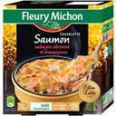 Fleury Michon Cassolette saumon sabayon citronné et champignons la boite de 120 g